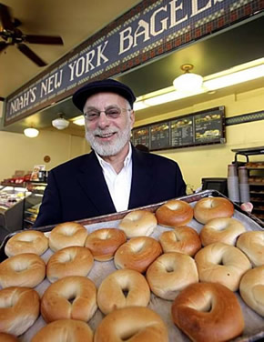 Noah Alper of Noah's Bagels